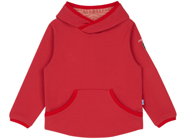 Finkid Pikku Pusero Sweat Hoodie Kids cranberry/red